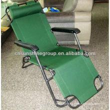 Cadeira de lazer com função de reclinação, cadeira reclinável de dobradura dobradura