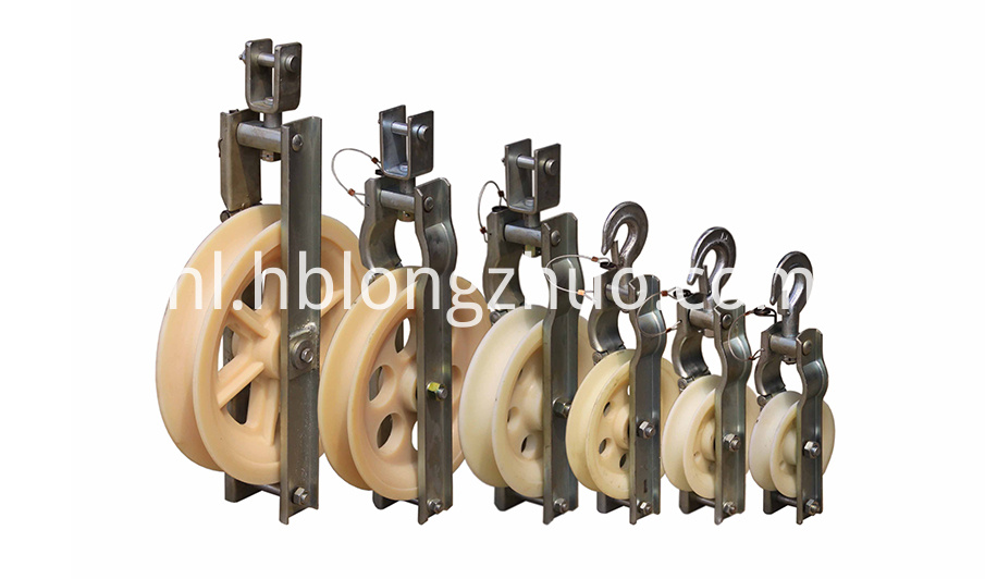 Open Type Nylon Cable Pulley