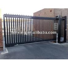 portão de metal do jardim