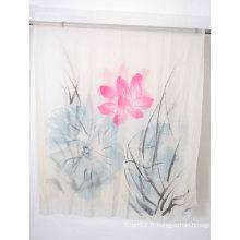 Hand Painted 200s / 2, Echarpe en laine de Merino (13-BR-382302-1.2)