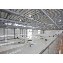 Hangar do avião do quadro de aço do espaço do painel do Al-Mg-Mn