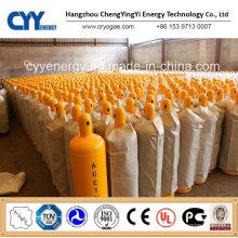 40L 50L Hochdruck-Acetylen-Stickstoff-O2-CO2-Argon-Gaszylinder
