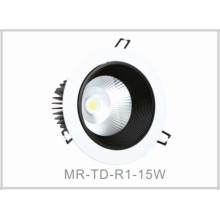 15W LED Down Lumière
