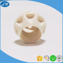 Pom plastic machining medical pipe fitting part