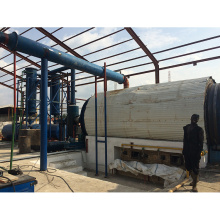 6T/D waste plastic/rubber/tyre to diesel machine with CE&ISO
