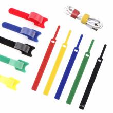 Correas de sujeción de cables reutilizables para cables de teléfonos