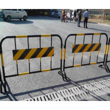 Powder Coating Temporary Fence Crowed Control Barricades, Traffic Barrier