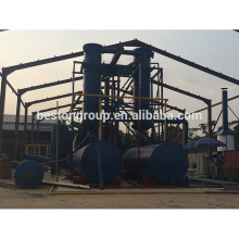 New technique used medical waste pyrolysis recycle machine plastic plate pyrolysis oil