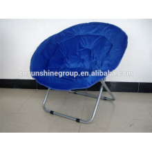Folding round chair,used folding moon chairs