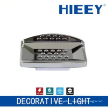LED side marker lamp plating lamp led license plate light decorative light with clear lens