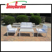 High Quality Indoor 4pcs Aluminum Sofa Set Furniture