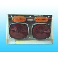 Deluxe 12V Trailer Light Kit with License Plate Light and Bracket