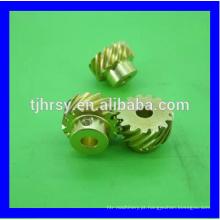 Engrenagem helicoidal de bronze M0.8