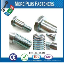 Fabriqué à Taiwan Tire-épaules courtes Hex Washer Head Special Shoulder Screw Bolt