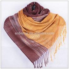 Изготовленный на заказ полиэфирный турецкий шаль