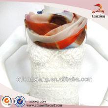 Bufanda de cachemira caliente pintada a mano promocional CALIENTE