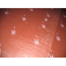 Gepolstertes Sperrholz mit Logo für Betonschalung