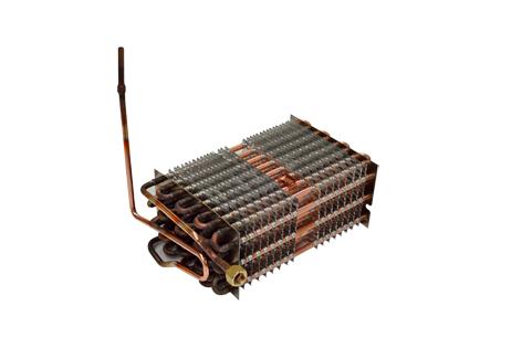 display cabinet copper condenser coil