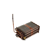 bobina de condensador de cobre do armário de exposição