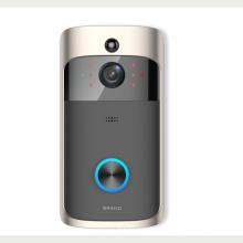 Téléphone de porte vidéo wifi intelligent avec interphone de porte sans fil de conception nouvelle HD