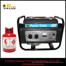 GPL Type Chine pour l'utilisation à la maison 3kw GPL Générateur