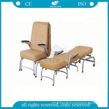 Zusammenklappbar im Patientenzimmer des Krankenhausaufenthaltsschlafrests tragbarer Stuhl