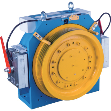 Gearless Lift Traction Machine Met Block Brake, MINI-4, 2: 1 Ratio