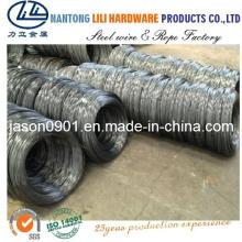 60 # / 65 # / 70 # / 72b / 80 # / 82b Alambre de acero al carbono para conductos flexibles, resortes de colchón, cepillos y producción de cuerdas