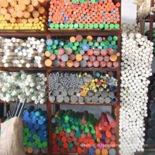 Feuille / tige / barre en plastique colorées d'ingénierie de POM