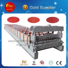 Venta caliente de la máquina de fabricación de tejas metálicas para revestimiento de paredes metálicas
