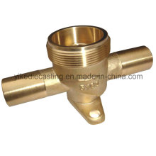 Brass CNC Machined Part, CNC Machining for Fitting