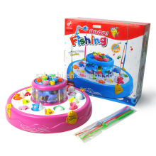 Music Glowing Plastic Magnetic Fishing Toy Set For Baby Kids Children Fish Model Play Fishing Games Outdoor Toys For Boys