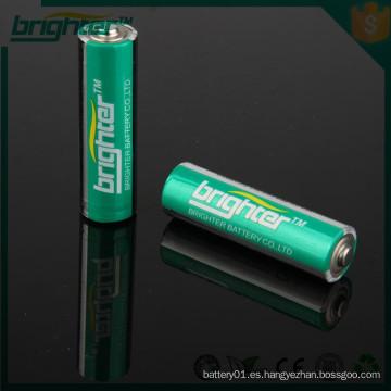 Una batería alcalina SGS CE de la fábrica de Ningbo
