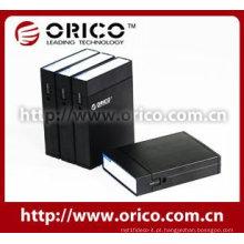 """Protetor HDD de 3,5 """"de ORICO AHP-35 com caixa de caixa de disco rígido de alumínio Shell"""