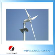 Imán de bloque para generador de viento