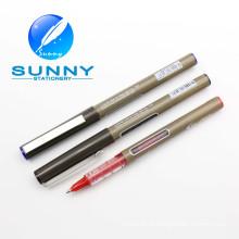 Caneta de ponta de rolo de tinta livre 0.5mm para uso em escritório e escola