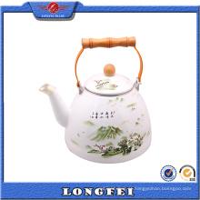 Produtos que você pode importar da China Pintura de paisagem Pote de chá chinês