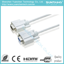 OEM HD 15pins macho a macho Cable VGA