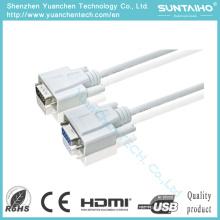 OEM HD 15pinos macho para cabo macho VGA