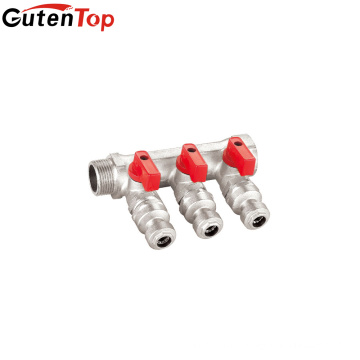 GutenTop Standard Hydraulic 3 Ways Mixed Water Valve Manifold For Underfloor Heating