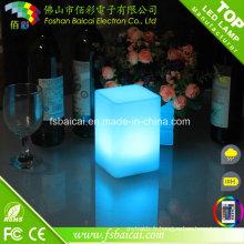 LED Cube RGB Illuminated LED Décoration de table