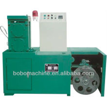 Wire flattening machine for flexible hose