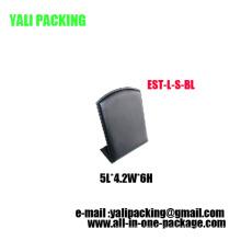 Vertical Alphabet L PU Earring Display Wholesale (EST-L-S-BL)