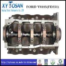Peça do motor da máquina escavadora de alta qualidade Ford 351 Cylinder Block KCB1042