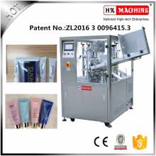 Machine de remplissage et de cachetage de tube mou de rendement élevé pour la crème / onguent / dentifrice de cosmétiques
