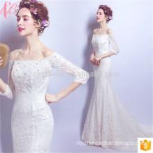 Pearl Beads Gorgeous Cheap Blush Wedding Dress