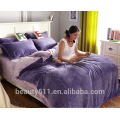 Folha de edredon de cama de flanela quente de inverno de alta qualidade e alta qualidade BS484