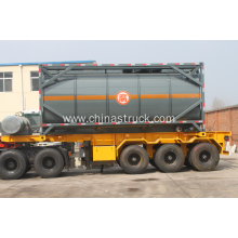20 Feet HCL tank container
