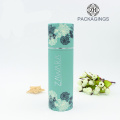 Custom Cardboard Tube Packaging with Foil Stamping