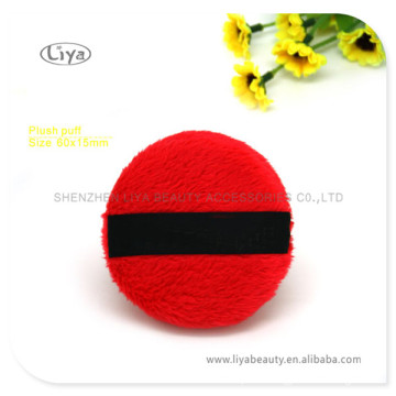 Hot Selling Sponge Puff With Black Ribbon